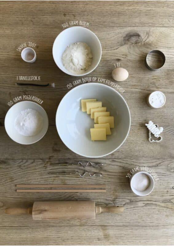 Recept koekstempels