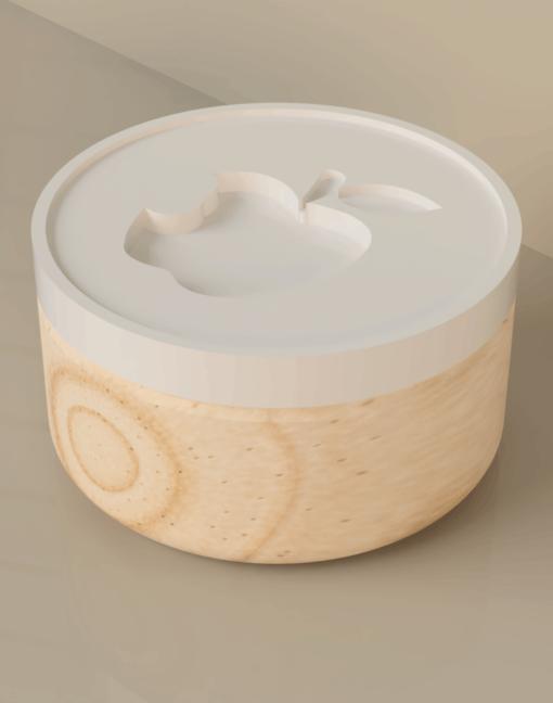Koekjesstempel Appel
