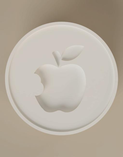 koekjesstempel appel top