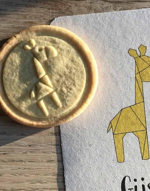 koekjesstempels giraf