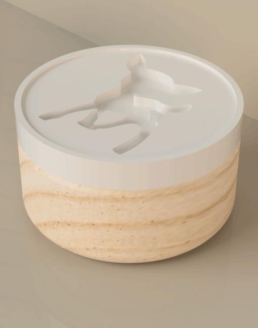 Koekjesstempel hertje
