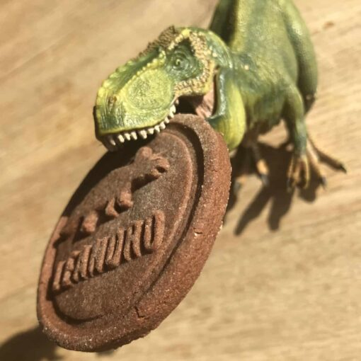 koekstempel dinosaurus