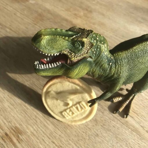 koekstempel dinosaurus Renzo