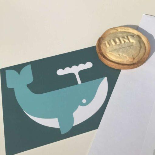 koekstempel walvis