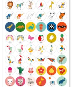 stickers met afbeeling