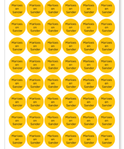 stickers naam